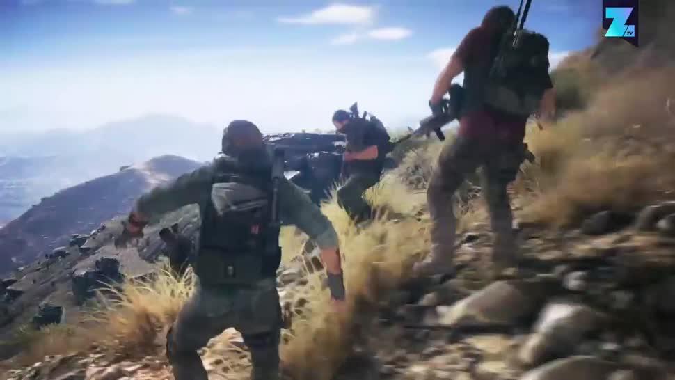 Ubisoft, actionspiel, Zoomin, Tom Clancy, Ghost Recon, Wildlands, Ghost Recon Wildlands