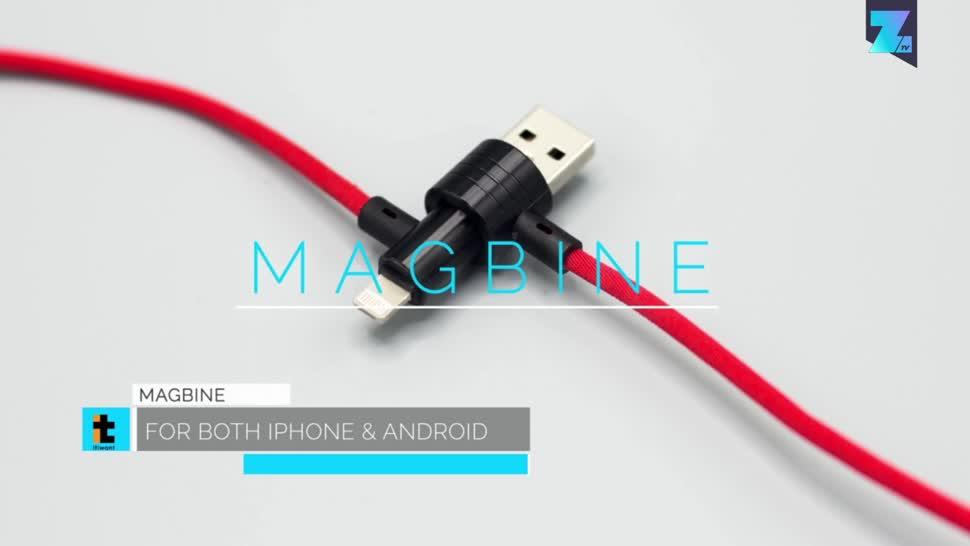 Zoomin, Strom, Kabel, Stromversorgung, Magbine