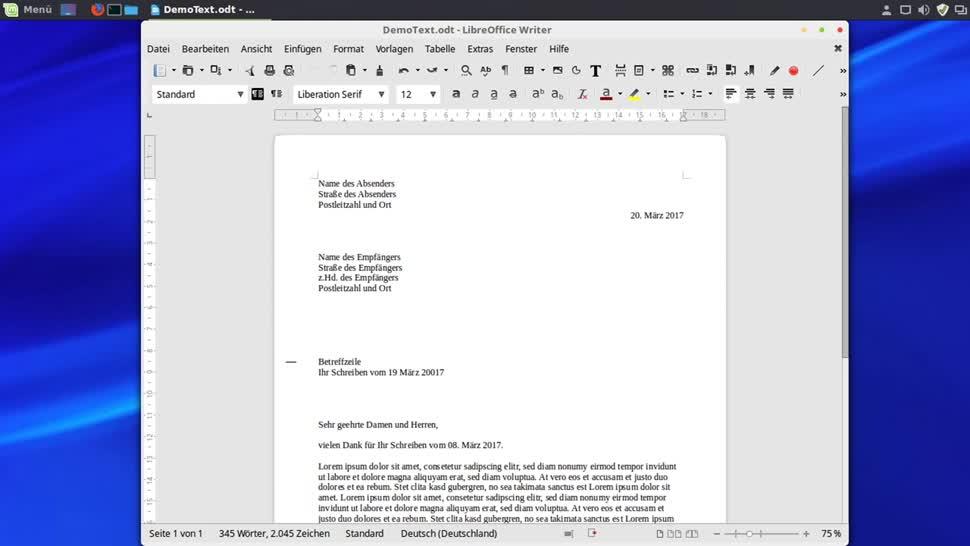 Briefe In Office So Platziert Man Eine Faltmarke In Briefen