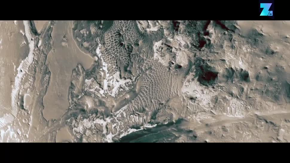Zoomin, Weltraum, Simulation, Mars, HiRISE, Jan Fröjdman