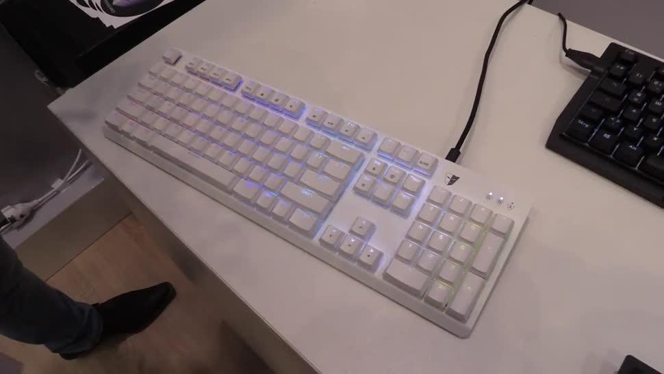 Tastatur, NewGadgets, Cebit, Cebit 2017, Tesoro, Tesoro Gram Spectrum, Gram Spectrum