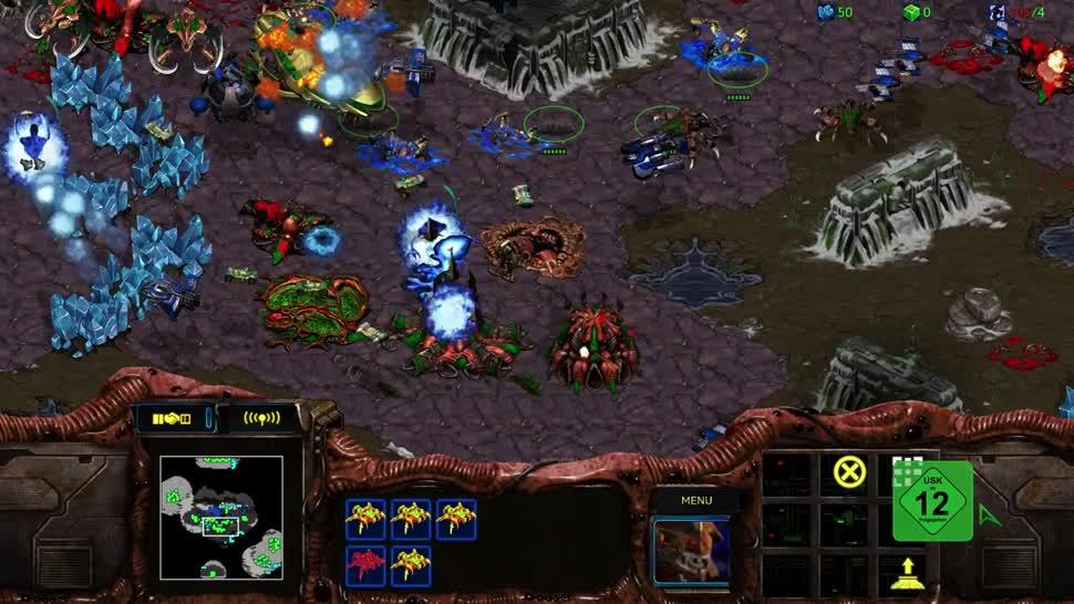 Trailer, Blizzard, Strategiespiel, Starcraft, StarCraft Remastered