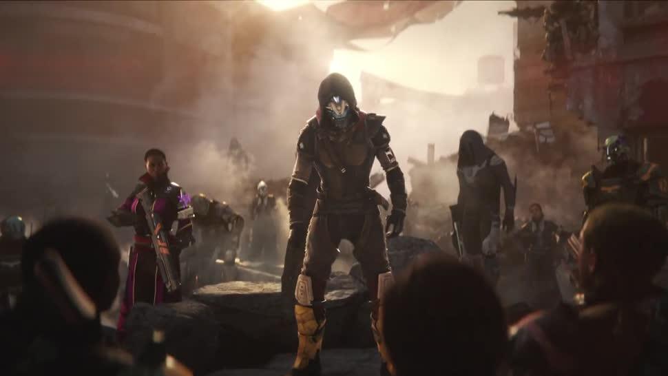 Trailer, actionspiel, Online-Spiele, Activision, Bungie, Destiny, Destiny 2
