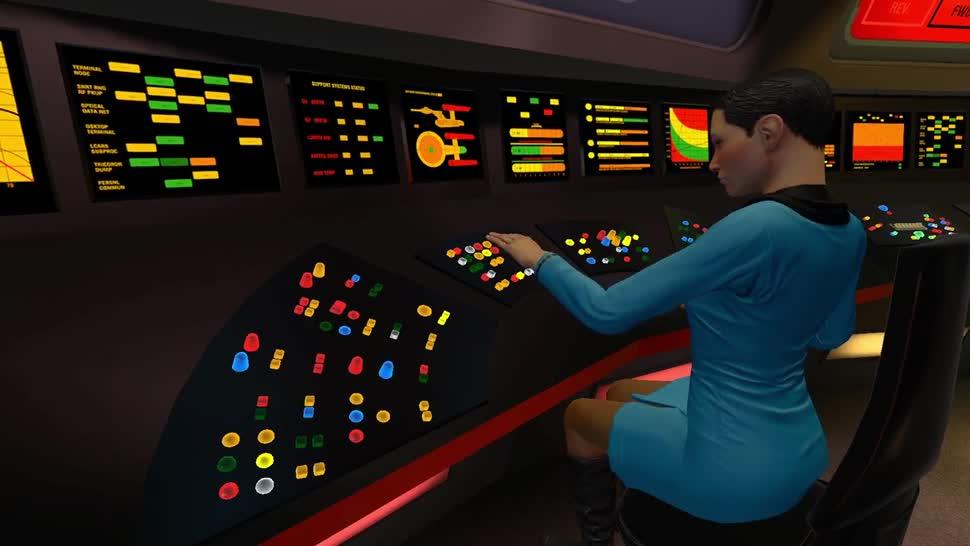 Trailer, Ubisoft, Virtual Reality, VR, Oculus Rift, Star Trek, HTC Vive, Vive, PlayStation VR, Bridge Crew, Bridge Crew VR, Star Trek: Bridge Crew VR