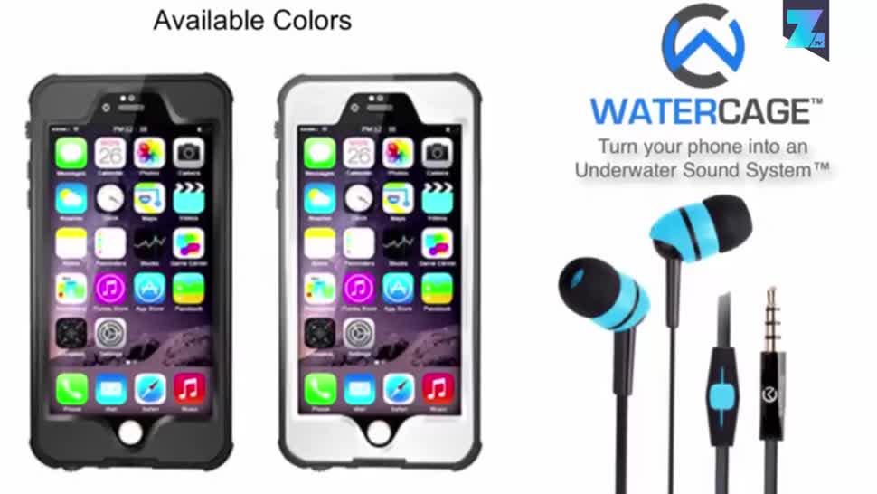 Smartphone, Zoomin, Kopfhörer, Crowdfunding, Kickstarter, wasserdicht, Schutzhüllen, WaterCage