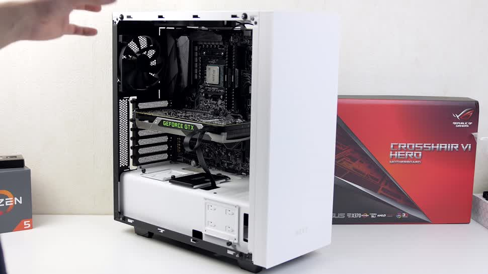 Test, Zenchilli, Zenchillis Hardware Reviews, Gehäuse, Tower, NZXT S340, NZXT S340 Elite, S340, S340 Elite