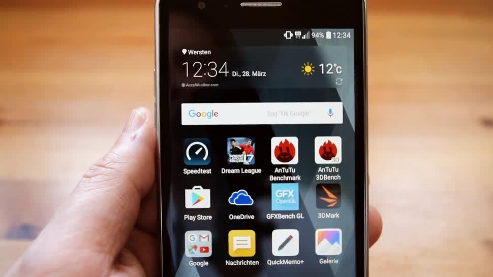 Smartphone, Android, LG, Test, ValueTech, LG K8, K8