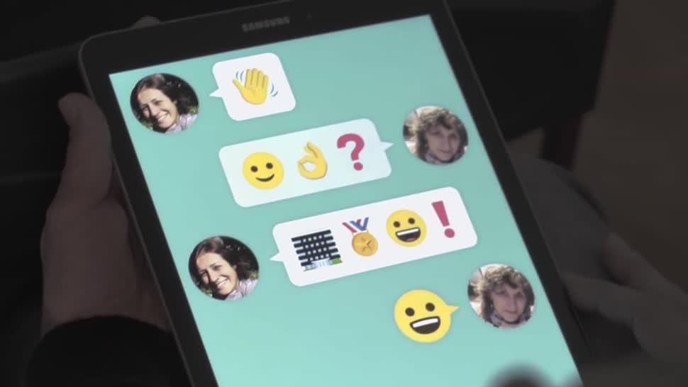 Samsung, Messenger, Emoji, Sprache, Behinderung, Wemogee