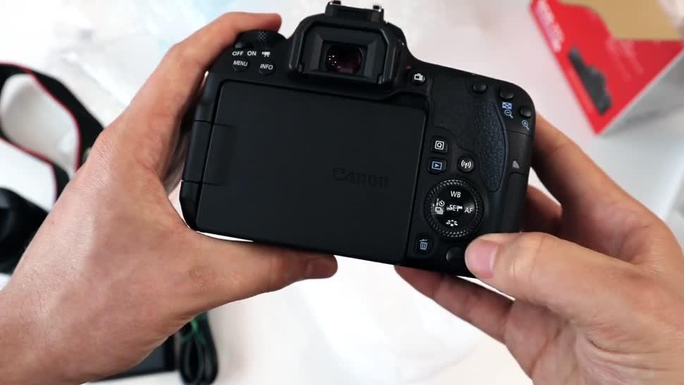 Kamera, ValueTech, Canon, Dslr, EOS 77D