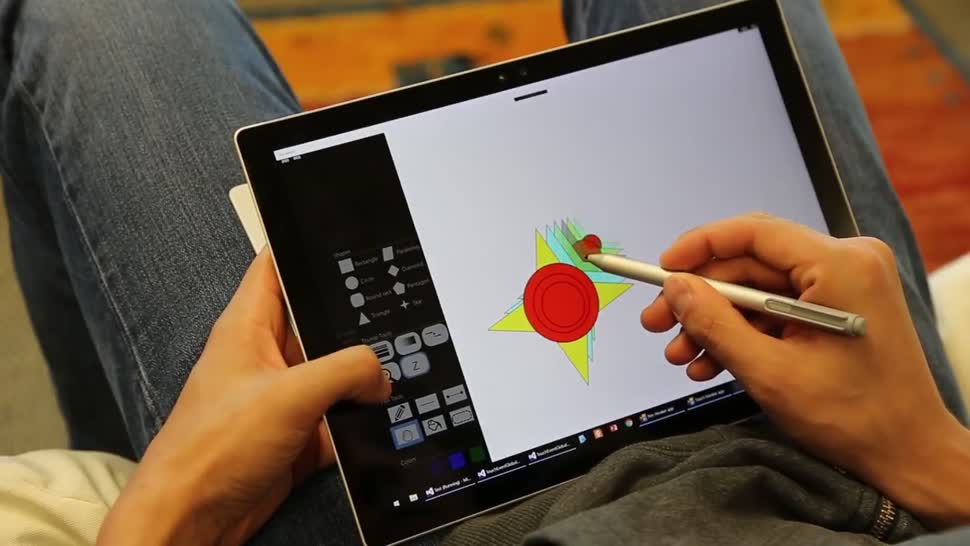 Microsoft, Tablet, Interface, Ui, Benutzeroberfläche, Stylus, Touch, Microsoft Research, PEN, Bedienung