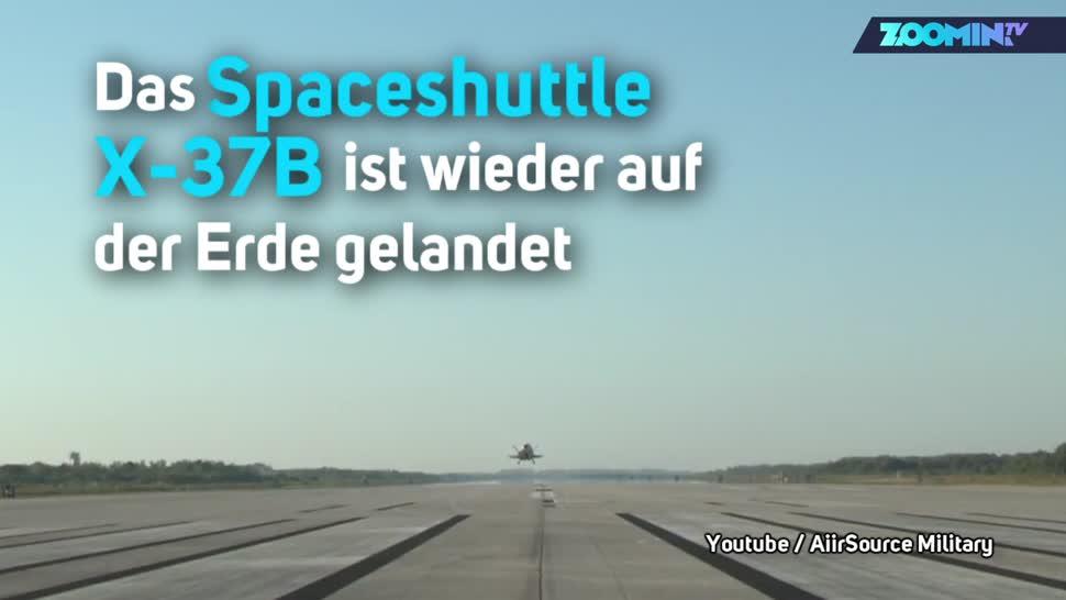 Forschung, Zoomin, Weltraum, Raumfahrt, Spaceshuttle, X37B, X-37B