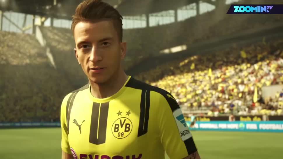Electronic Arts, Ea, Zoomin, Fußball, EA Sports, Fifa, Fifa 17