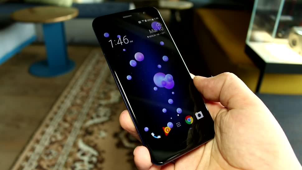 Smartphone, Android, Htc, Test, Hands-On, Octacore, Preis, Hands on, Review, Spezifikationen, Qualcomm Snapdragon 835, Specs, HTC Sense, HTC U11, Ifttt, HTC Ocean, HTC U 11, U11, Ocean, ANC, Edge Sense, Sense Companion