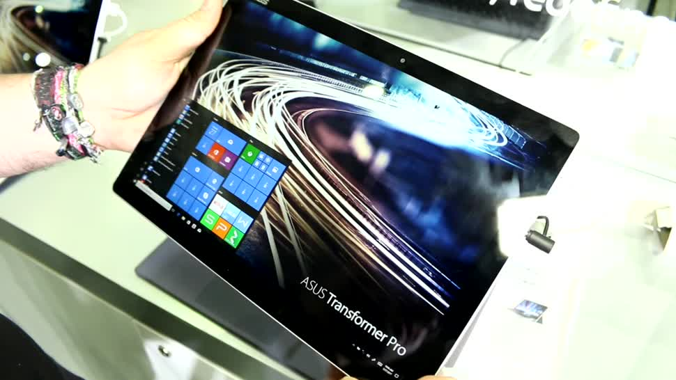 Tablet, Asus, Hands-On, Hands on, Computex, Computex 2017, Asus Transformer Pro T304, Asus Transformer Pro, Transformer Pro T304