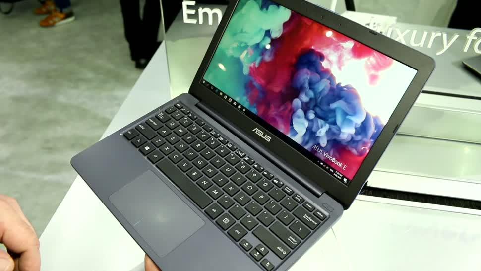 Notebook, Asus, Computex, Computex 2017, Apollo Lake, Vivobook e12