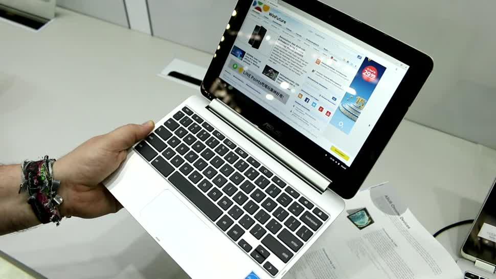 Notebook, Asus, Computex, Convertible, Computex 2017, Chromebook Flip