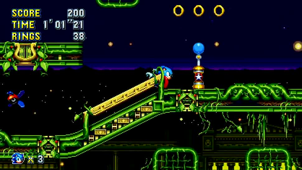 Trailer, SEGA, Jump & Run, Sonic, Sonic Mania