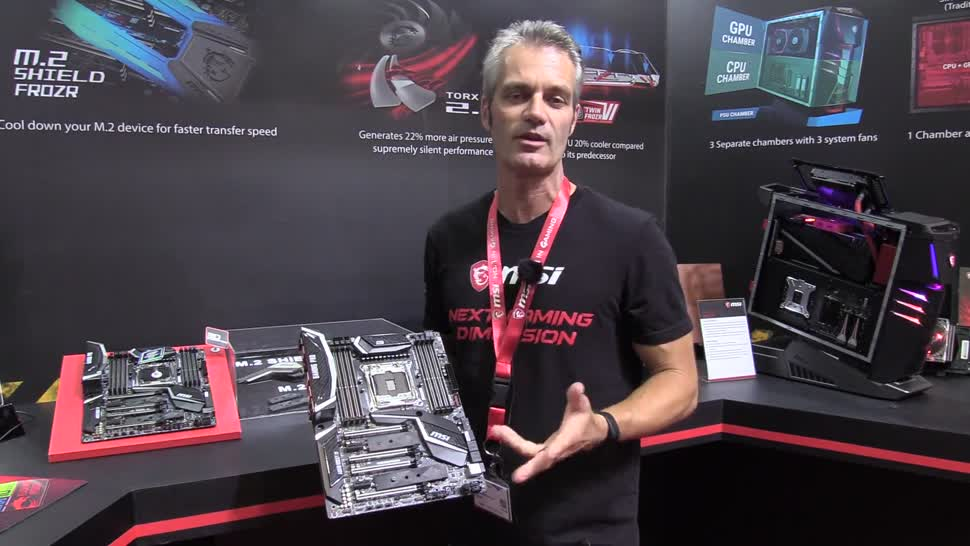 Hands-On, Computex, NewGadgets, Johannes Knapp, Msi, Mainboard, Computex 2017, MSI X299 Gaming Pro AC, MSI X299 Gaming Pro, X299 Gaming Pro AC, X229