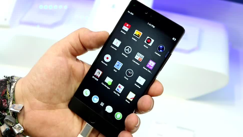 Smartphone, Android, Smartphones, Hands-On, Hands on, Computex, Smartisan, U1 Pro, Smartisan U1 Pro
