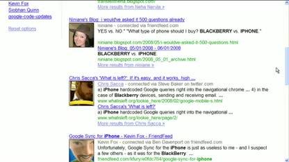 Google, Suche, Social Search
