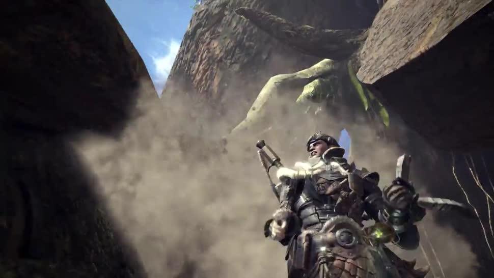Trailer, Sony, PlayStation 4, E3, PS4, Sony PlayStation 4, Sony PS4, Capcom, E3 2017, Monster Hunter, Monster Hunter World