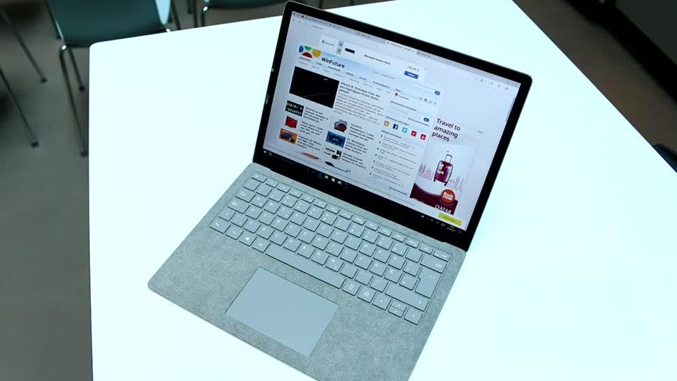 Microsoft, Notebook, Laptop, Hands-On, Windows 10 S, Surface Laptop