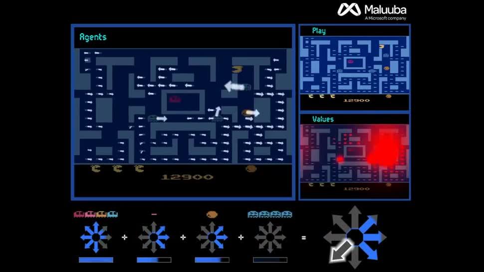 Microsoft, Künstliche Intelligenz, Ki, Informatik, Deep Learning, Maluuba, Ms. Pac-Man