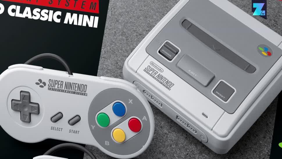 Konsole, Spielkonsole, Nintendo, Zoomin, Nintendo Konsole, SNES Classic Mini, SNES Classic