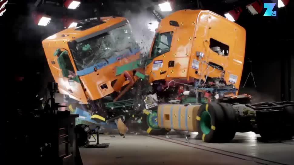 Sicherheit, Forschung, Zoomin, Verkehr, Straßenverkehr, Volvo, Volvo Trucks, Trucks