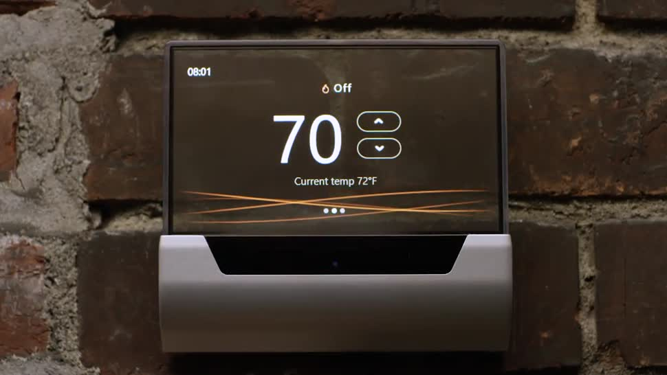 Cortana, Glas, Windows 10 IoT Core, Thermostat, Johnson Controls