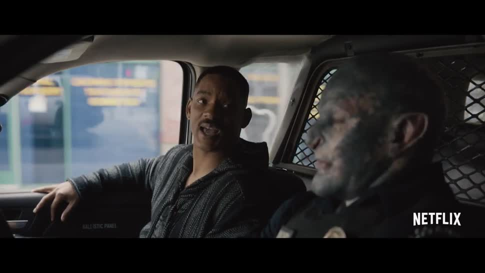 Trailer, Netflix, Comic-Con, San Diego ComicCon, SDCC, SDCC 2017, Comic-con 2017, Bright, Will Smith, San Diego Comiccon 2017