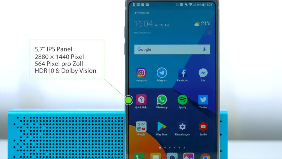 Smartphone, Android, LG, Test, Daniil Matzkuhn, tblt, LG G6, G6