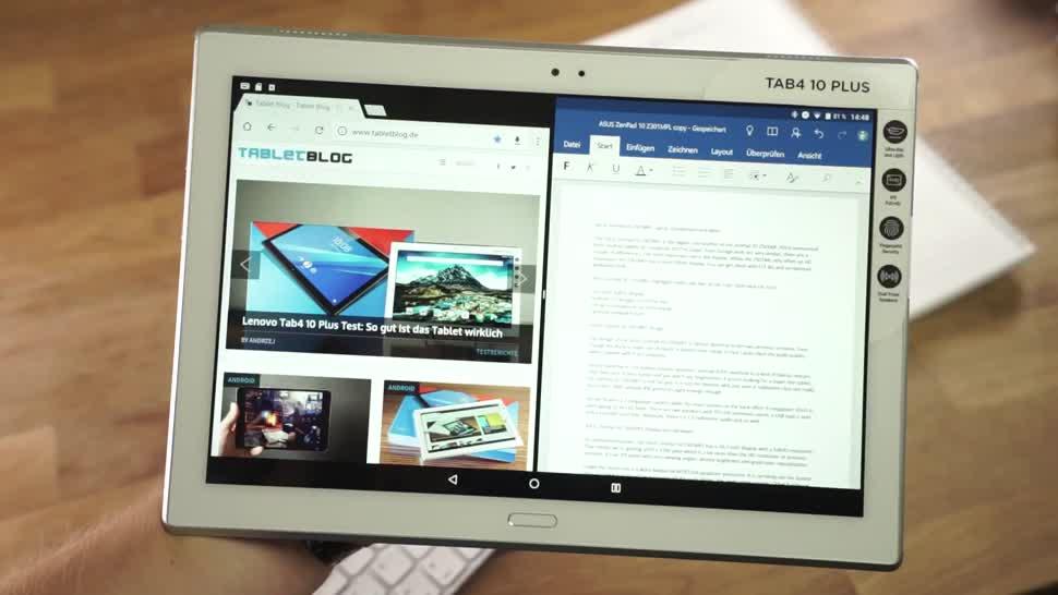 Android, Tablet, Test, Andrzej Tokarski, Tabletblog, Lenovo Tab 4, Lenovo Tab 4 10 Plus, Tab 4 10 Plus
