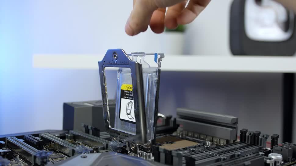 Prozessor, Cpu, Amd, Ryzen, Zenchilli, Zenchillis Hardware Reviews, Threadripper, Anleitung, Ryzen Threadripper, Amd Ryzen Threadripper, Einbau, 1950X, Ryzen Threadripper 1950X, TR4-Sockel, Threadripper 1950X