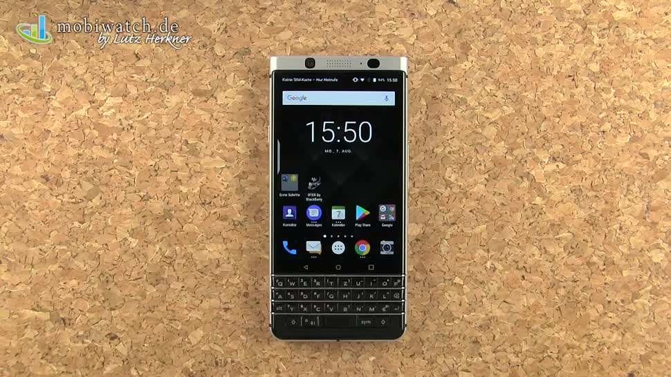 Smartphone, Android, Blackberry, Lutz Herkner, TCL, KEYone