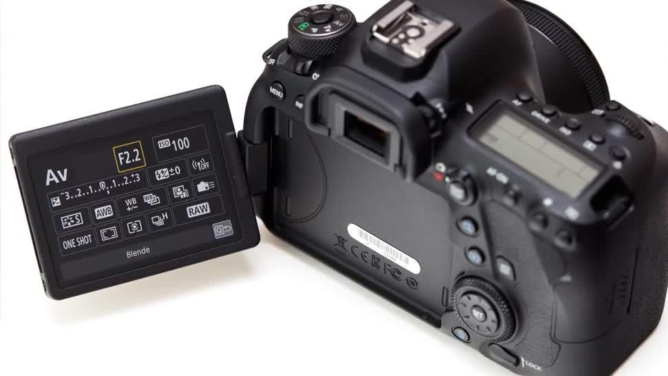Kamera, ValueTech, Canon, Dslr, Vollformat, EOS 6D Mark II