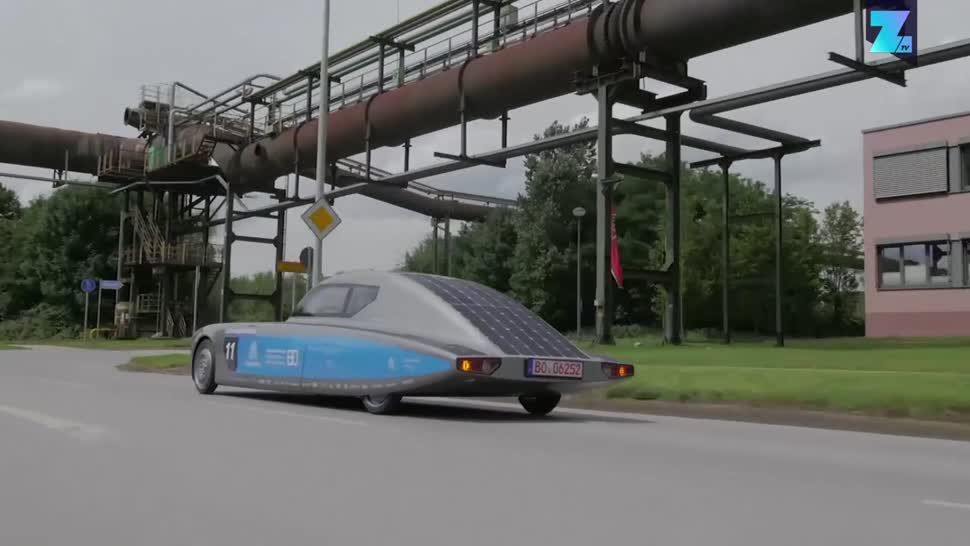 Zoomin, Auto, Fahrzeug, Solar, Solarenergie, Thyssenkrupp, blue.cruiser, Hochschule Bochum, SolarCar