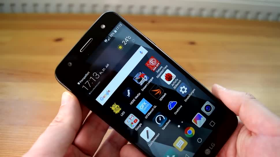 Smartphone, Android, LG, ValueTech, X power2