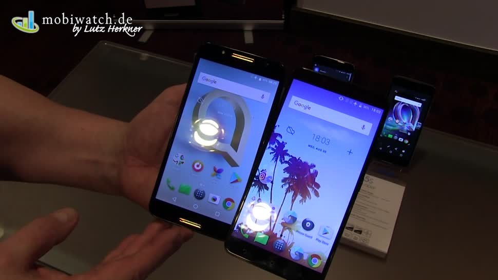 Smartphone, Android, Ifa, Lutz Herkner, Alcatel, IFA 2017, idol 5, Idol 5S