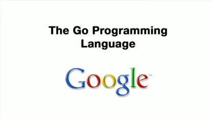 Google, Programmiersprache, Go
