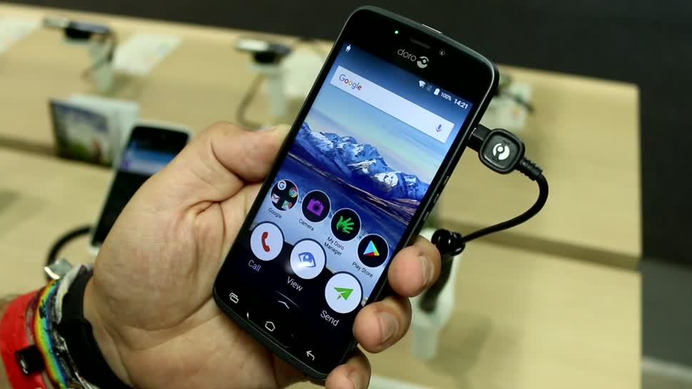 Smartphone, Android, Ifa, IFA 2017, Senioren, Doro, Doro 8040