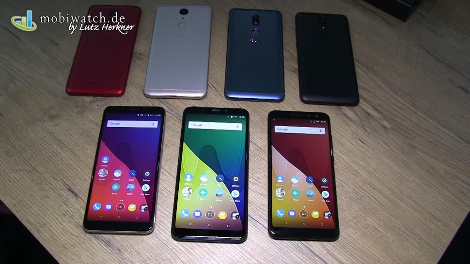 Smartphone, Android, Hands-On, Ifa, Hands on, Lutz Herkner, IFA 2017, Wiko, Mobiwatch, Wiko View, Wiko View XL, Wiko View Prime, View Prime, View XL