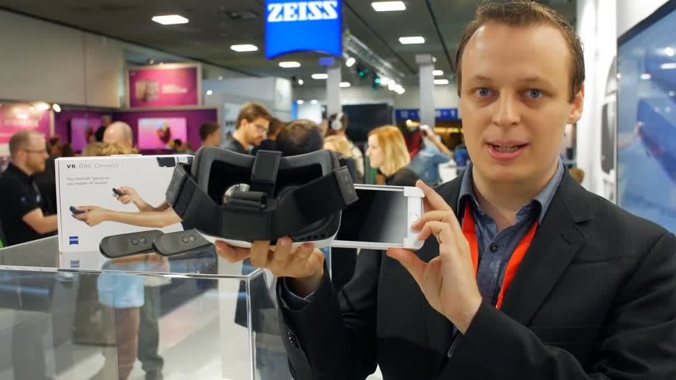 Virtual Reality, VR, Ifa, Headset, ValueTech, VR-Brille, VR-Headset, IFA 2017, Zeiss, Zeiss VR One, Zeiss Vr One Plus, Zeiss VR, ZEISS VR One Connect, VR One Connect