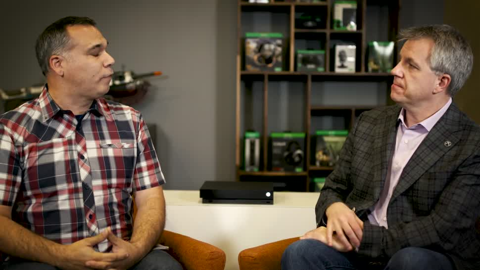Microsoft, Xbox, Xbox One, Microsoft Xbox One, Xbox One X, Interview, Microsoft Xbox One X, Larry Hryb, Albert Penello, Xbox One X Enhanced