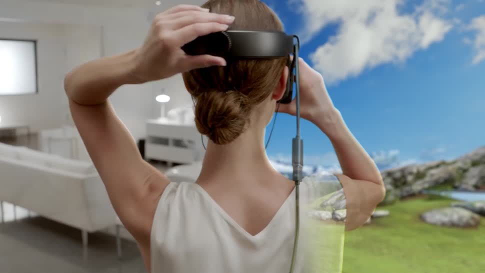 Microsoft, VR, Augmented Reality, VR-Brille, Mixed Reality, Windows Holographic, Windows Mixed Reality, Windows 10 Holographic