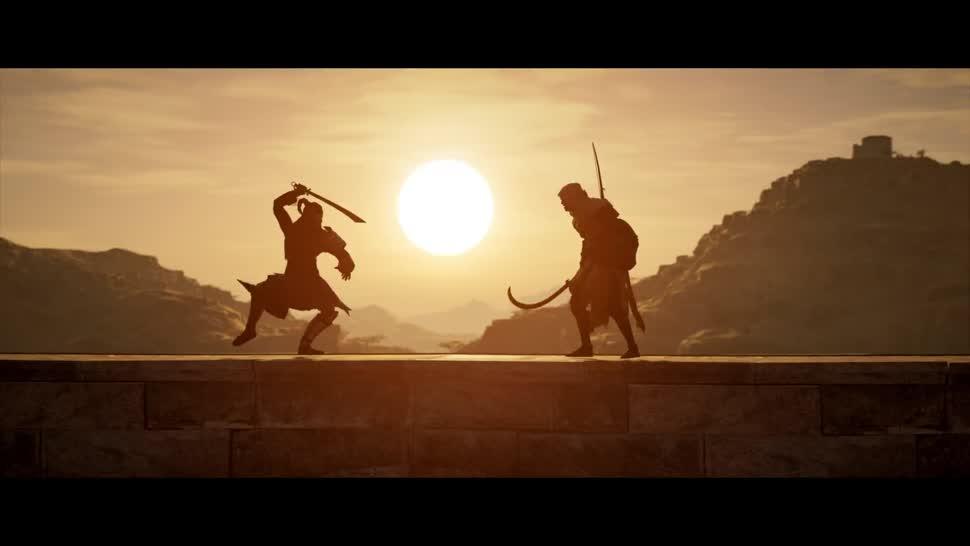Trailer, Ubisoft, actionspiel, Assassin's Creed, Assassin's Creed Origins