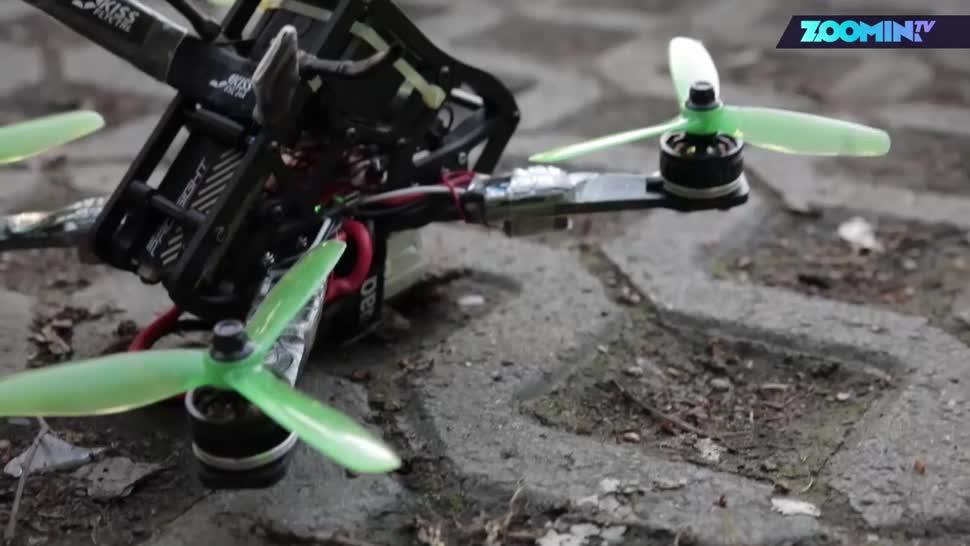 Zoomin, Drohnen, Sport, Drone Racing World Series