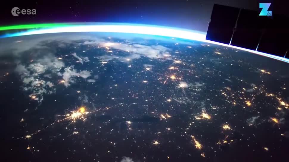 Zoomin, Weltraum, Raumfahrt, Esa, Iss, Astronomie, Erde, Paolo Nespoli