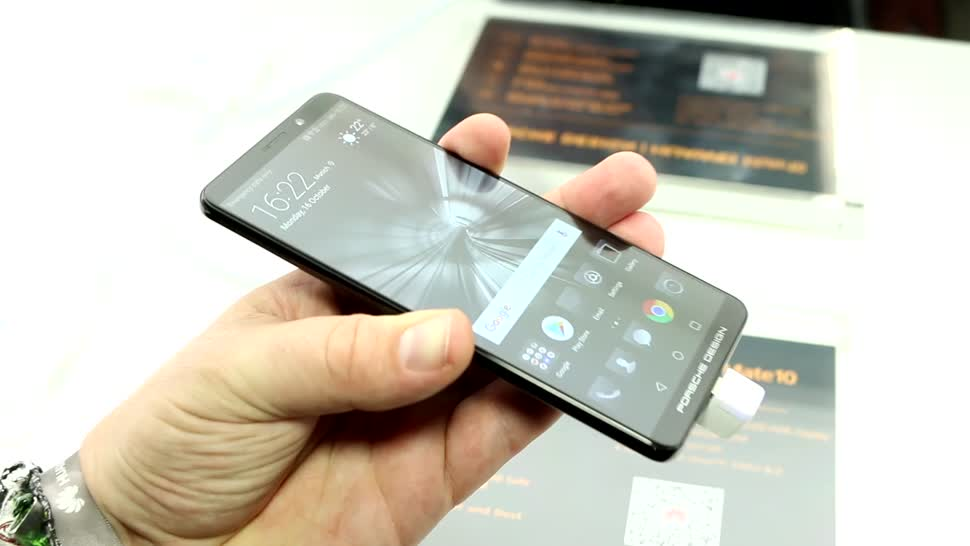 Smartphone, Lte, Huawei, Design, Test, Hands-On, Octacore, Hands on, OLED, Review, Kirin 970, Porsche, Porsche Design, Huawei Mate 10, Huawei Mate 10 Pro, Mate 10, Huawei Mate 10 Porsche Design