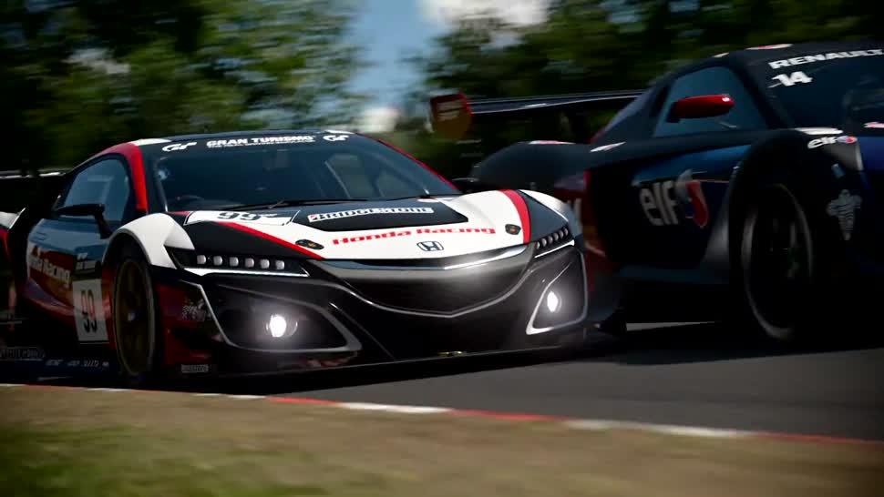 Afholte Gran Turismo Sport: PS4-exklusive Rennsimulation im Launch-Trailer KY-02